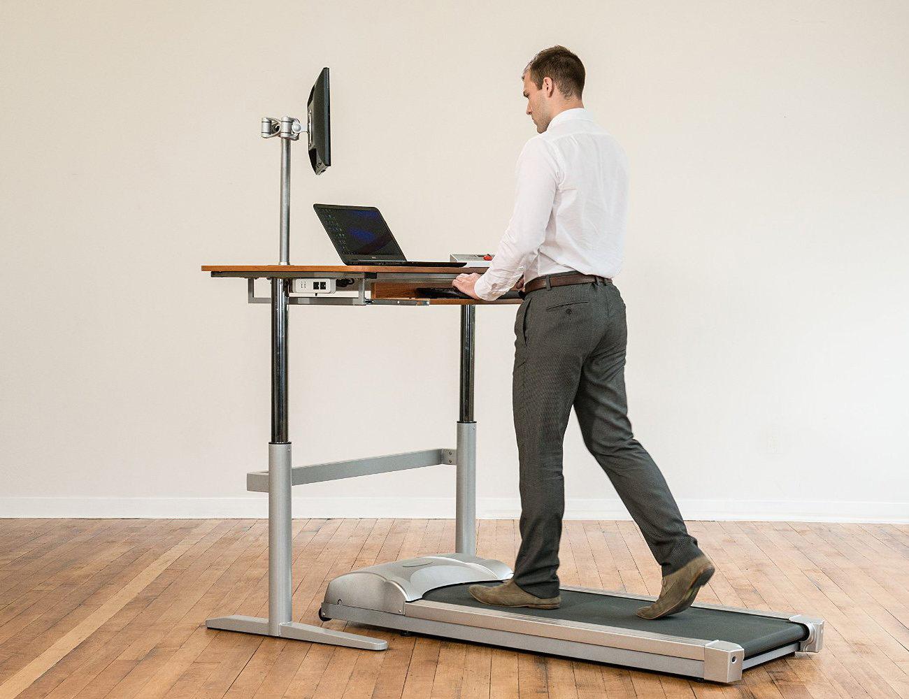 Rebel+Treadmill+And+Desk+Combination