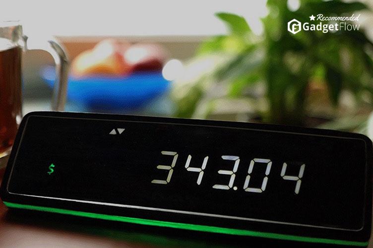 Tixie – The Digital Money Clock
