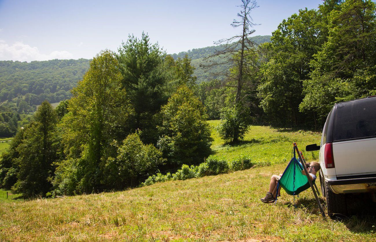 Roadie Hammock Stand by Eagle's Nest