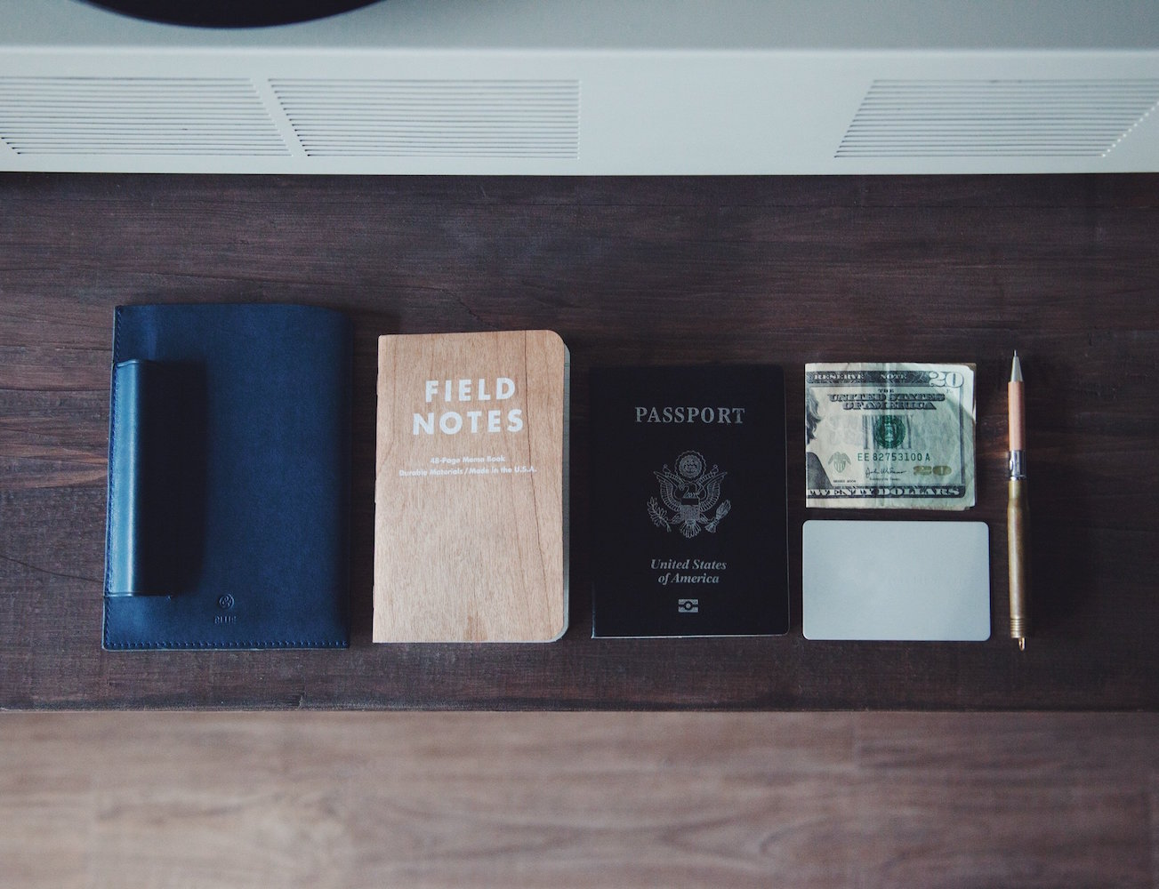 Rockwell Journal and Passport Holder by DRY & CO