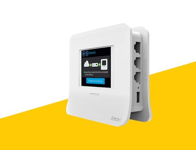 Securifi Almond 3 Router and Security Alarm