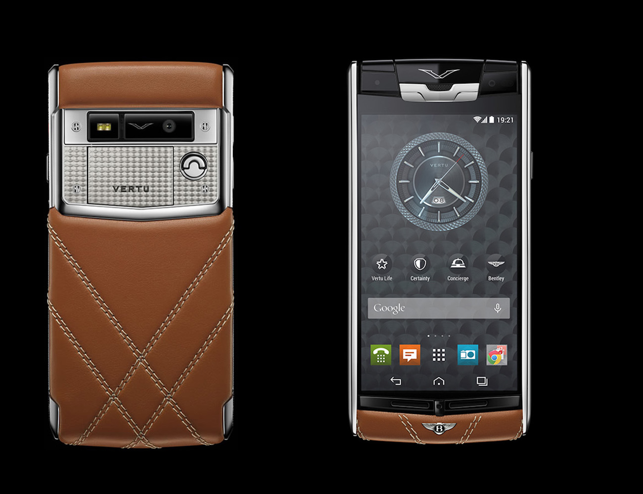 Signature Touch Smartphone for Bentley