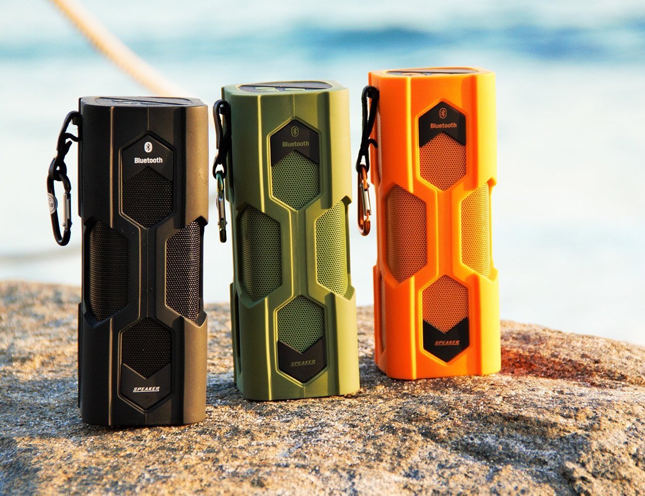 Sound Monkey Audio Rugged Bluetooth Speaker