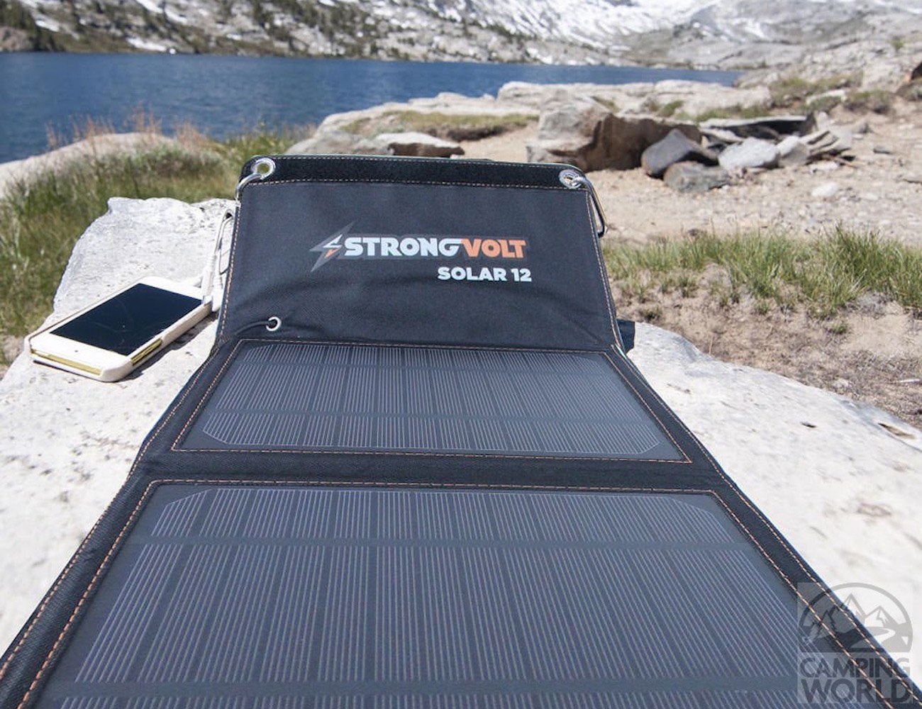 StrongVolt+Portable+Solar+Charger+With+SunTrack+Technology