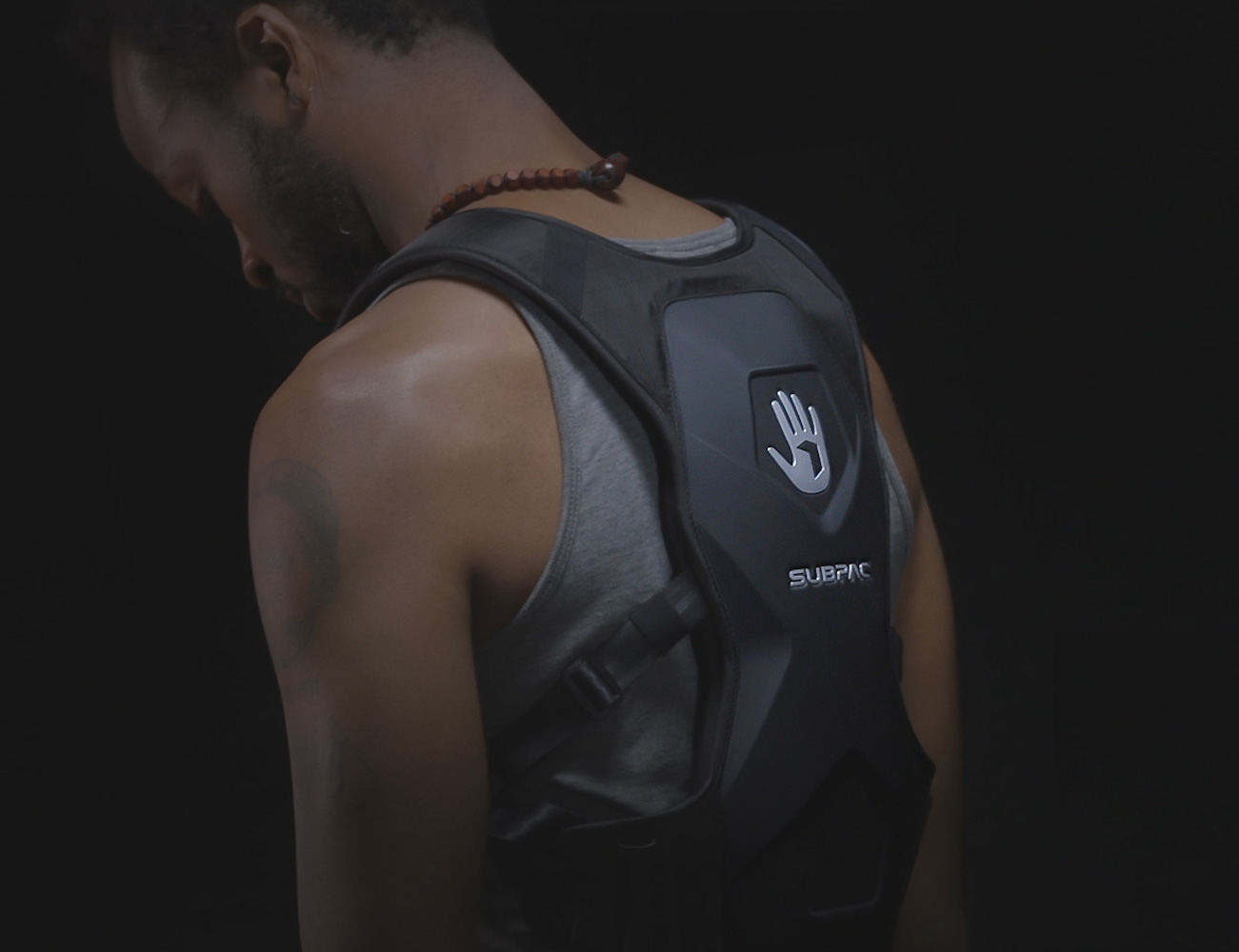 SUBPAC M2 Wearable Bass System immerses you in your music