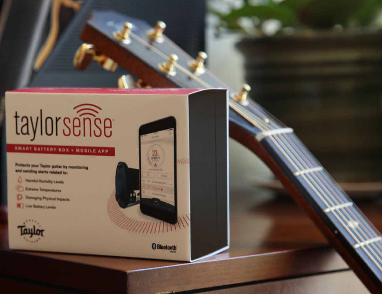 TaylorSense Guitar Health Monitoring System