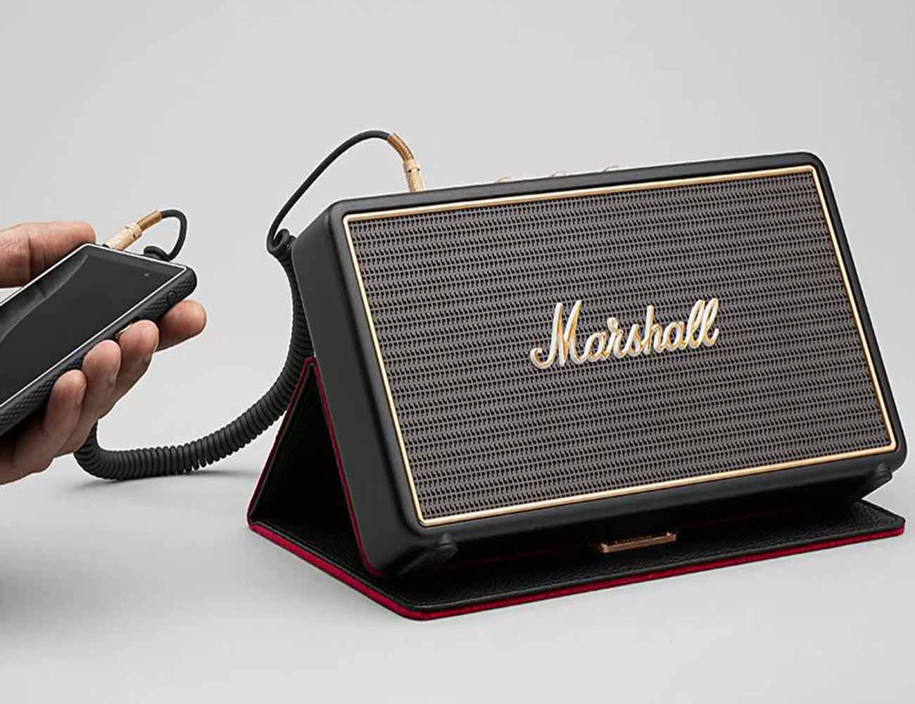 The Stockwell Bluetooth Travel Speaker by Marshall