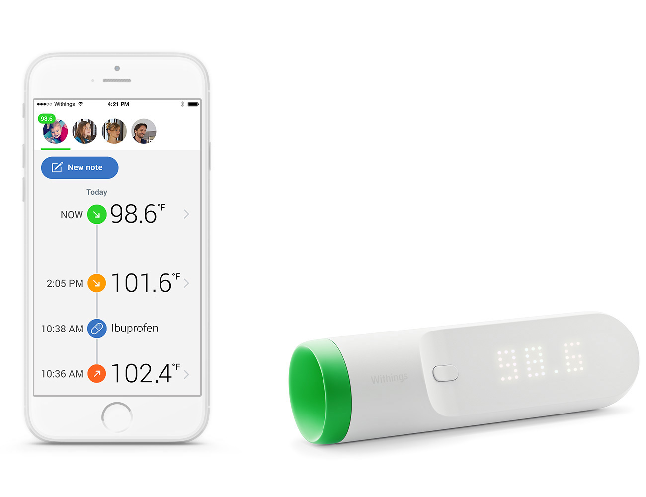 Thermo – The One Touch Wi-Fi Thermometer