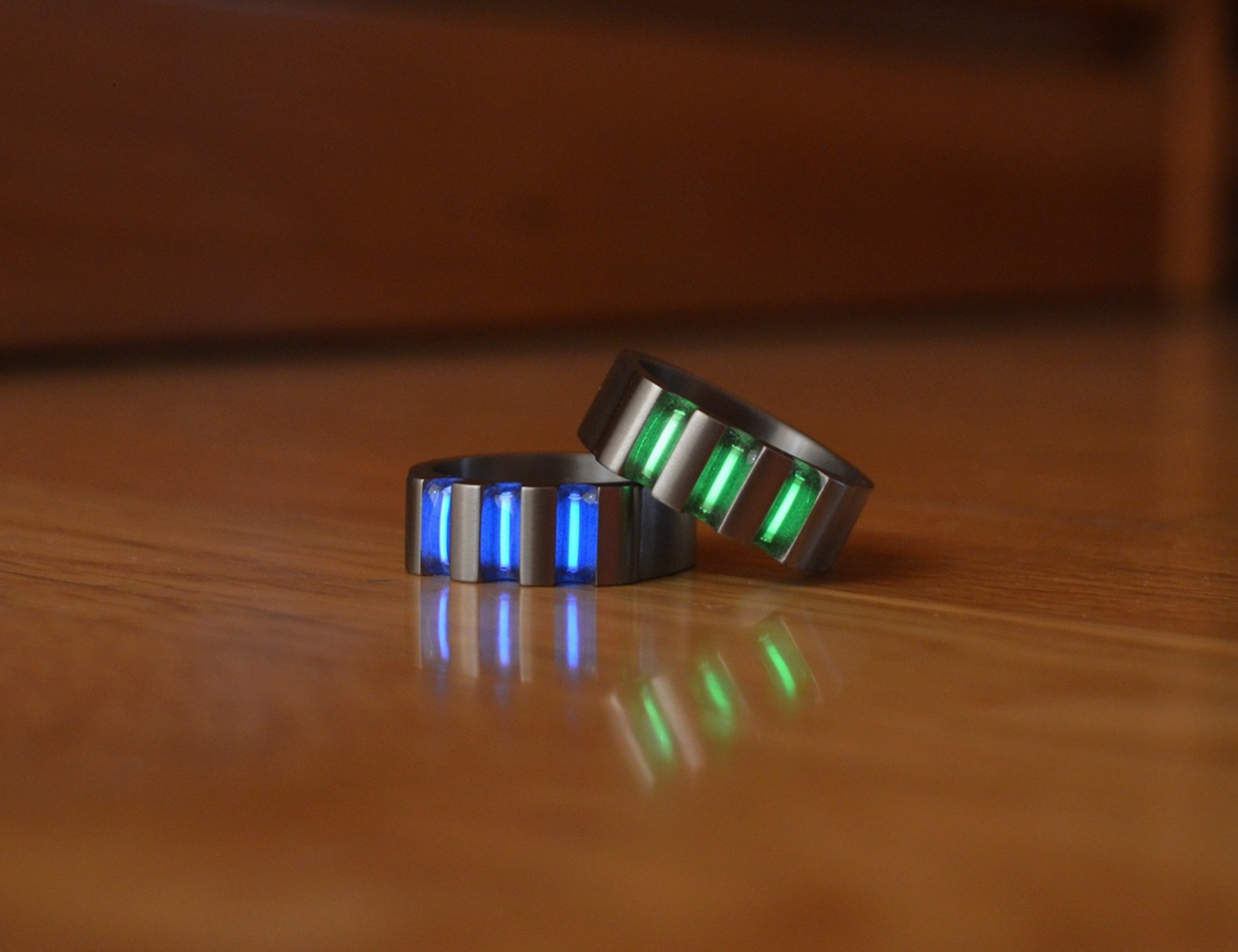 Titanium-Tritium Rings