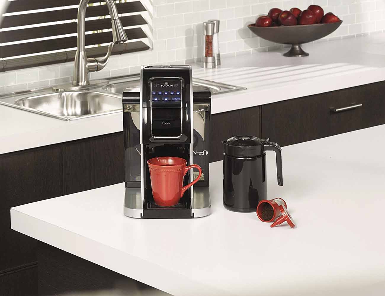 Touch Brewer T526S Single Cup Brewing System