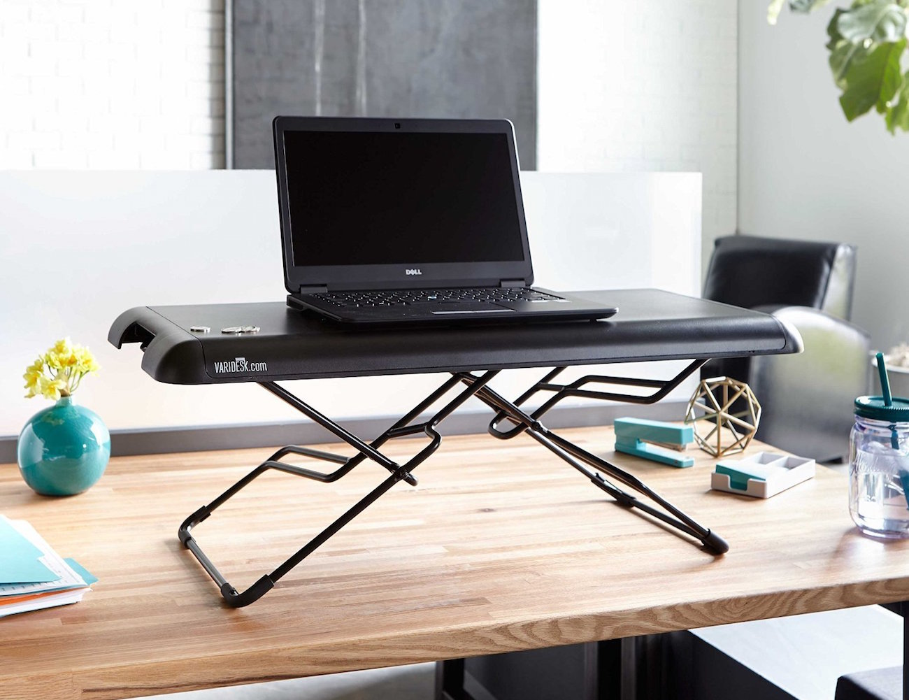 VARIDESK Laptop 30 Height Adjustable Standing Desk