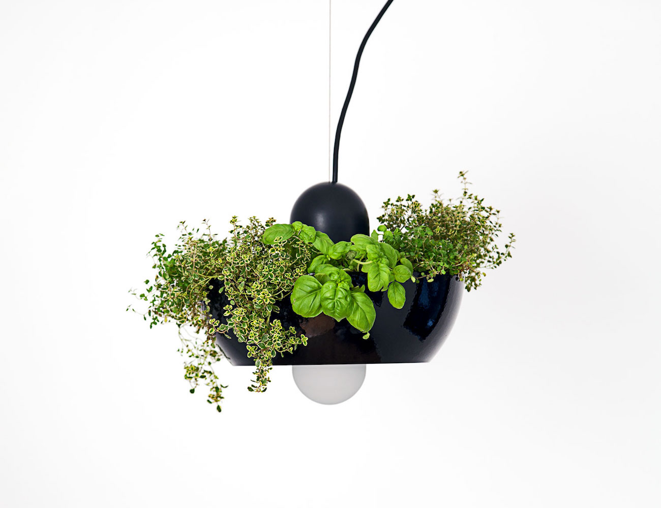 Well Light Planter by Object/Interface