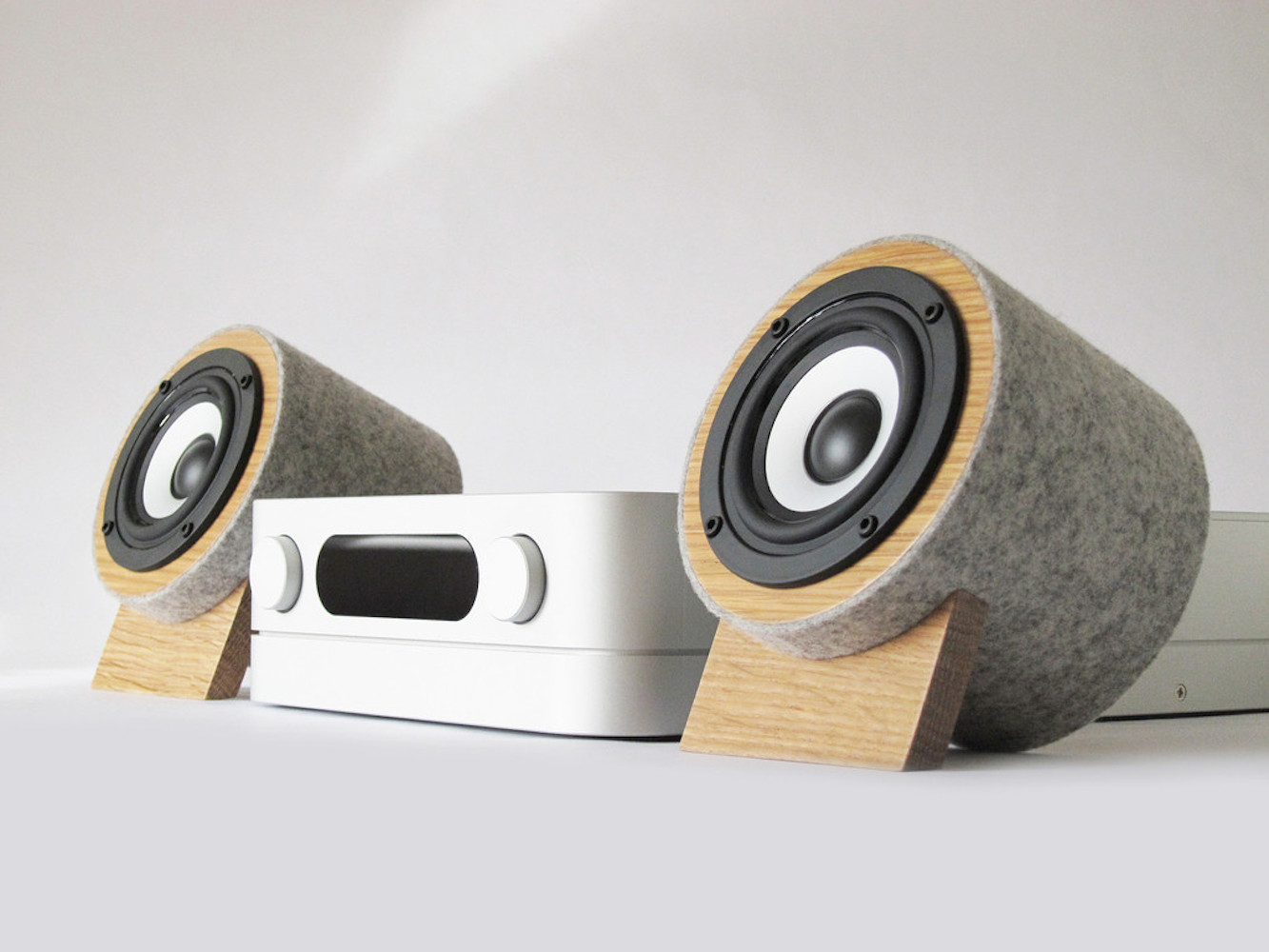 Yorkie EXR Desktop Speakers by Well Rounded Sound