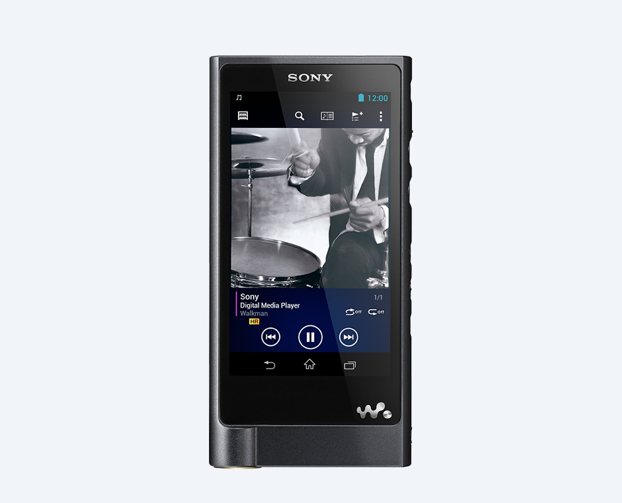 ZX2 High Resolution Walkman from Sony