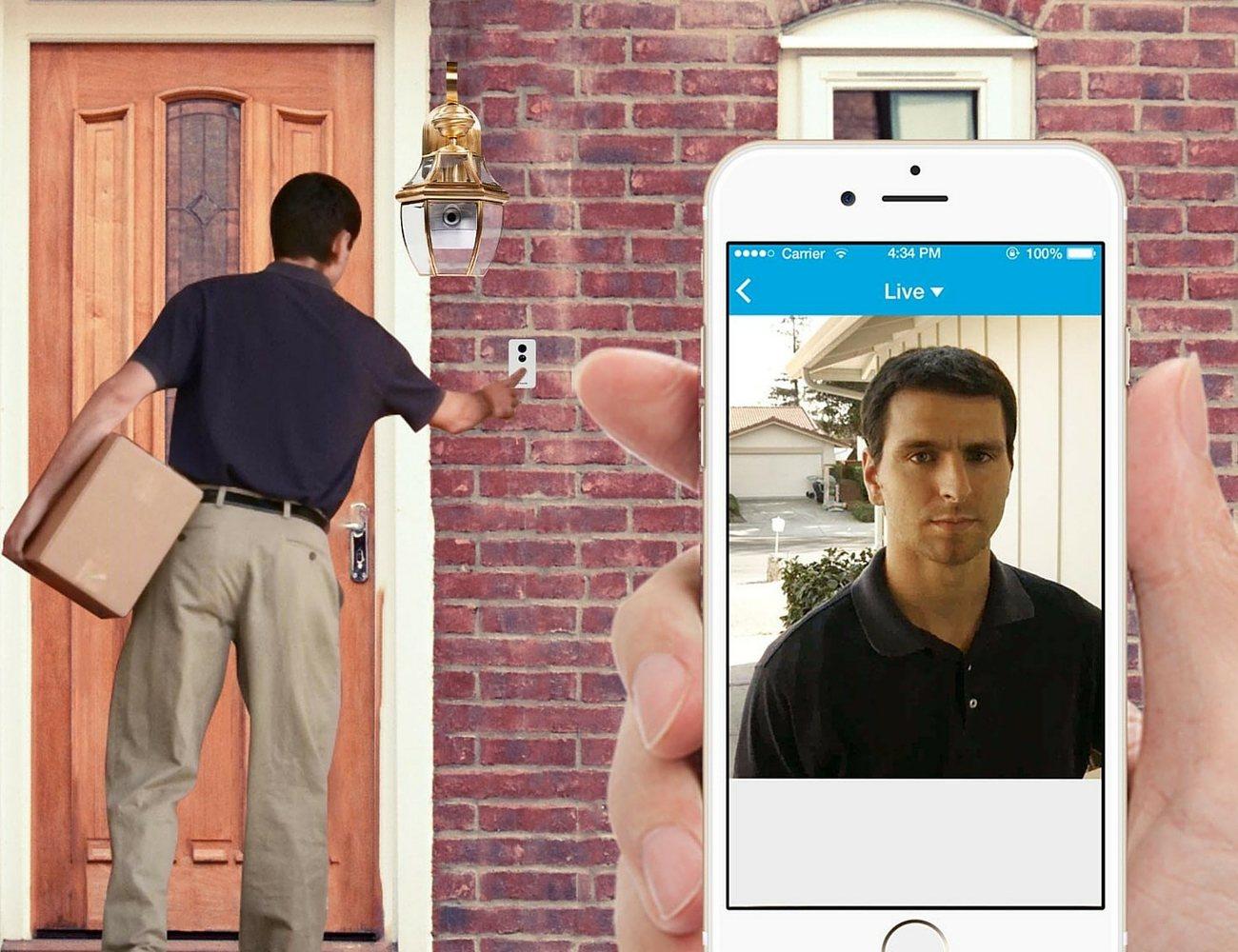 Zmodo Smart Door Light and Connected Doorbell