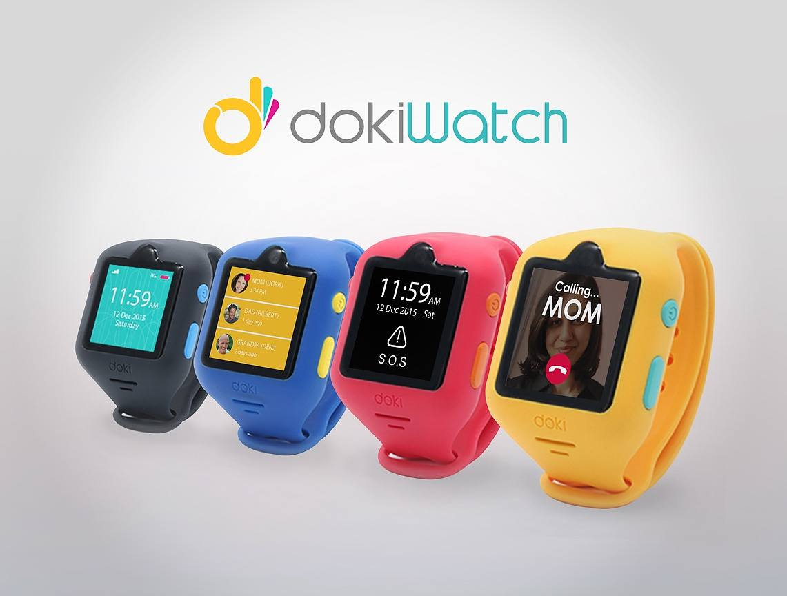 dokiWatch – The Most Advanced Smartwatch for Kids