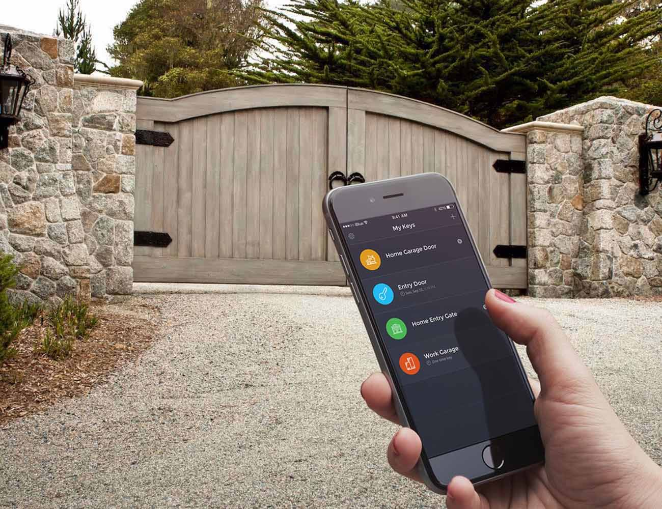 iBlue Smart Gate Garage Opener