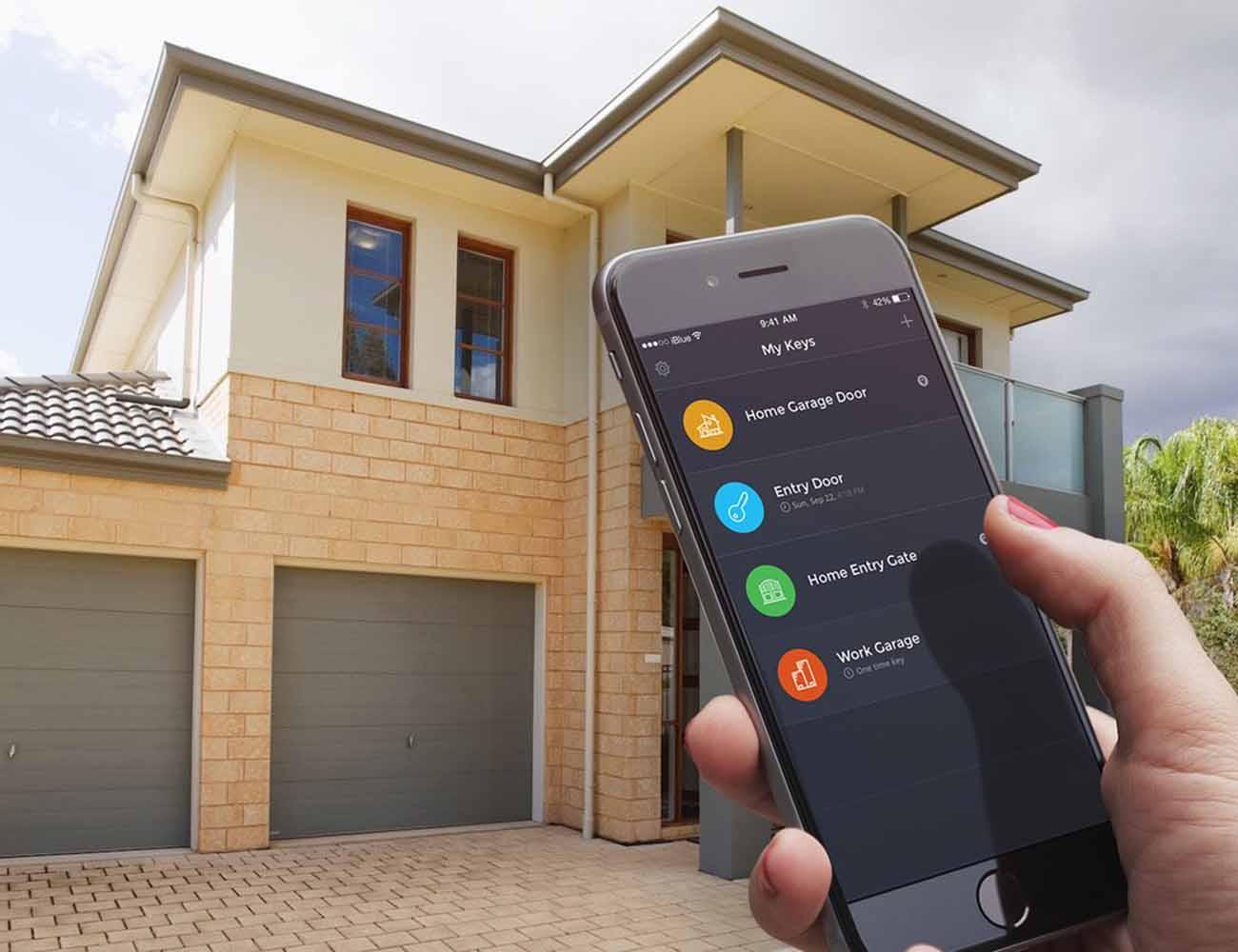 iBlue Smart Gate Garage Opener