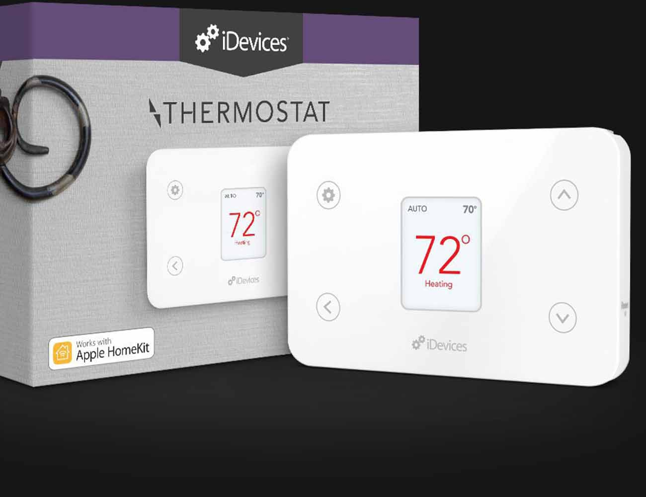 idevices smart home thermostat gadget flow. Black Bedroom Furniture Sets. Home Design Ideas