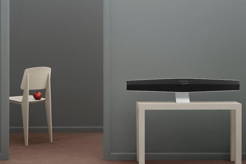 speakers in living room