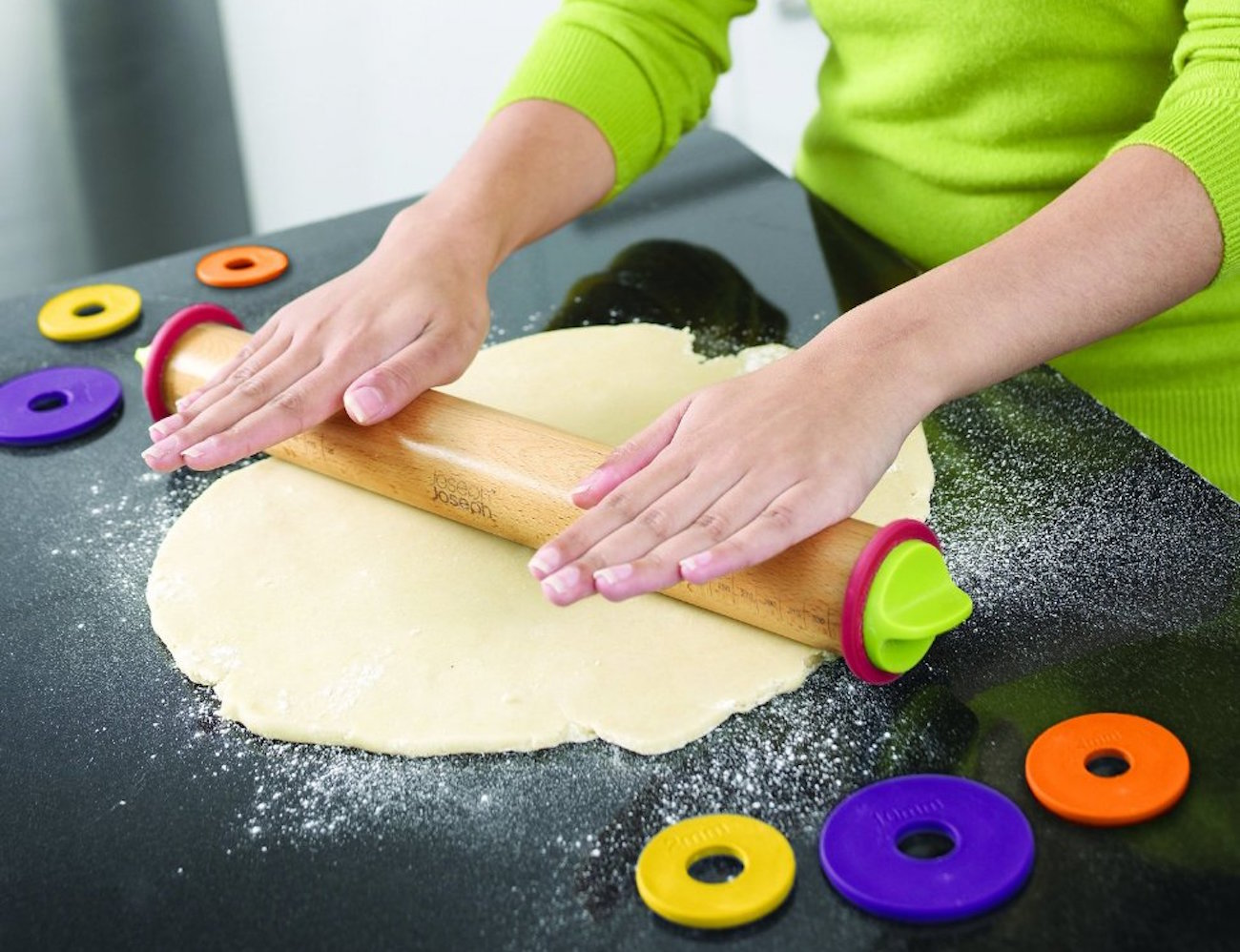 Adjustable Rolling Pin by Joseph Joseph