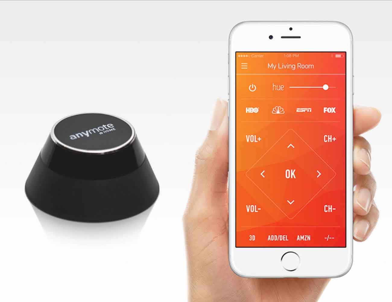 AnyMote Home – The Smart Universal Remote Control