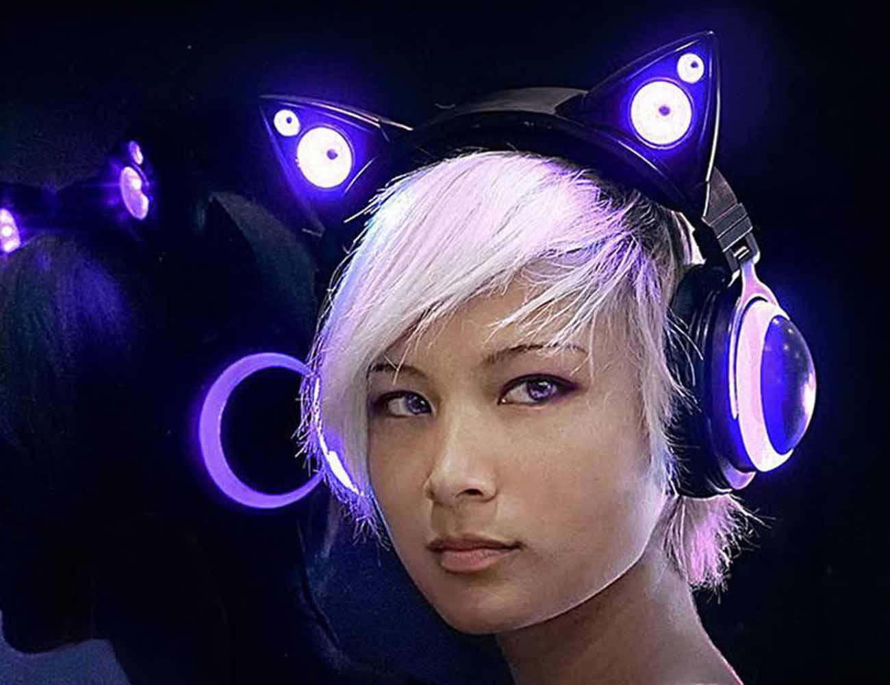 Axent Wear Cat Ear Headphones » Gadget Flow