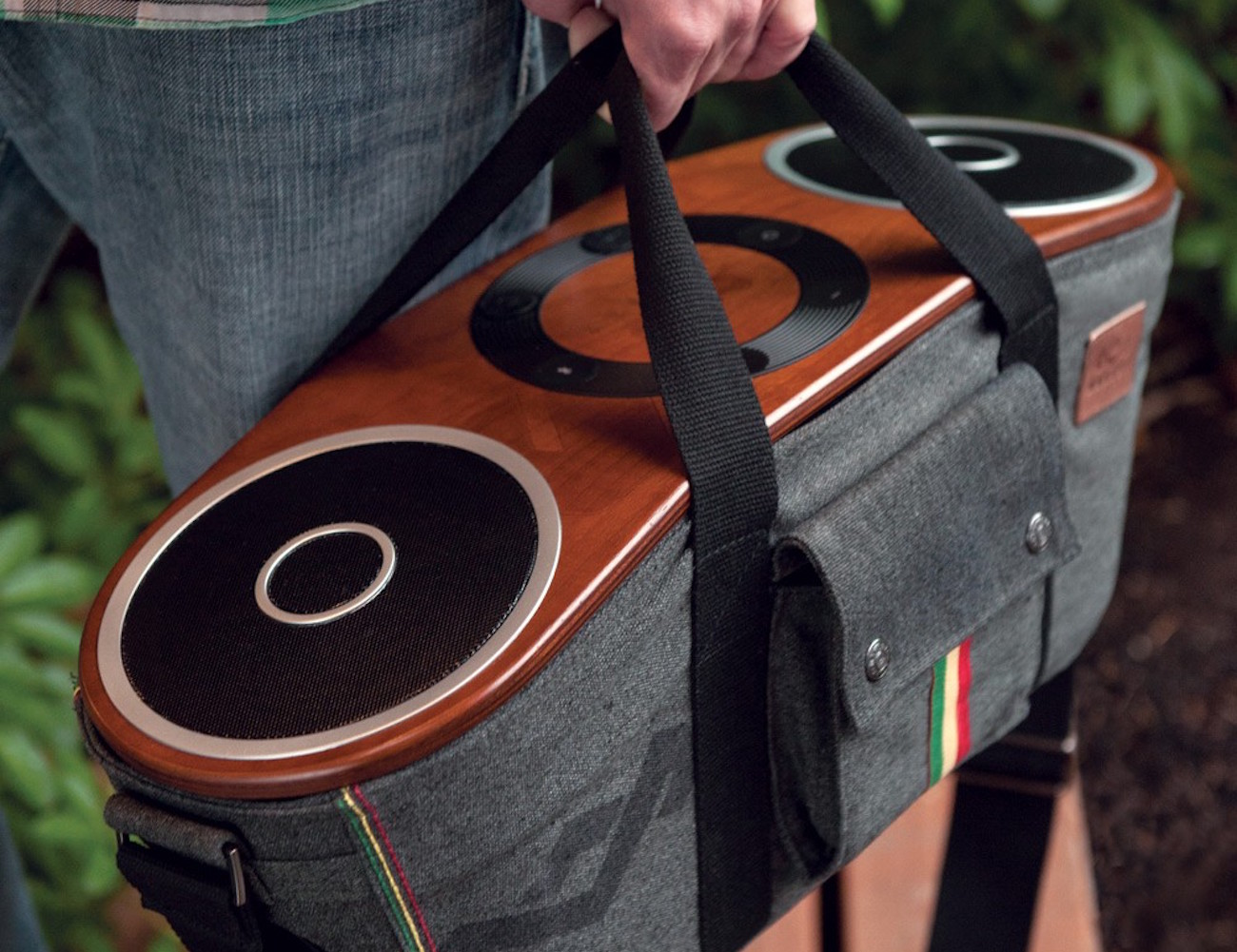 Bag of Riddim Audio System by House of Marley loading=