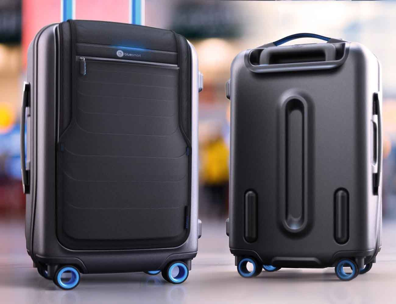 Bluesmart World S First Smart Luggage