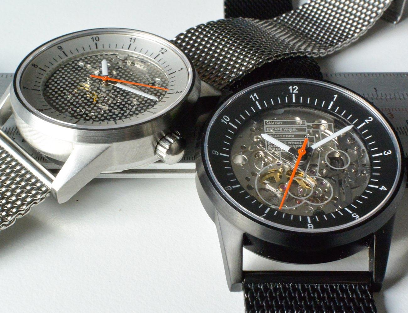 Caliper View Wristwatch
