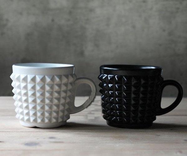 Ceramic Rivet Coffee Mug