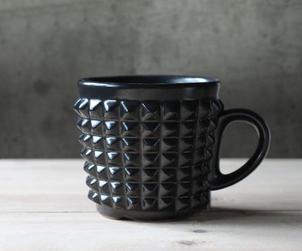 Ceramic Rivet Coffee Mug