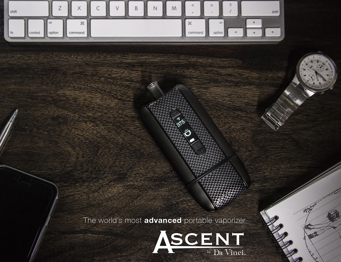 how to clean the ascent by davinic