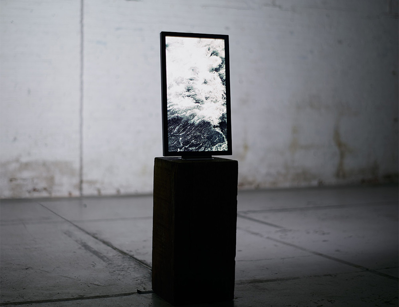 Digital Art Display by Electronic Objects