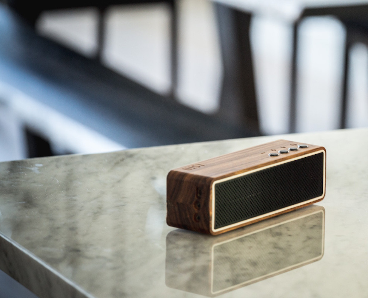 Ebony Apollo Bluetooth Speaker by LSTN