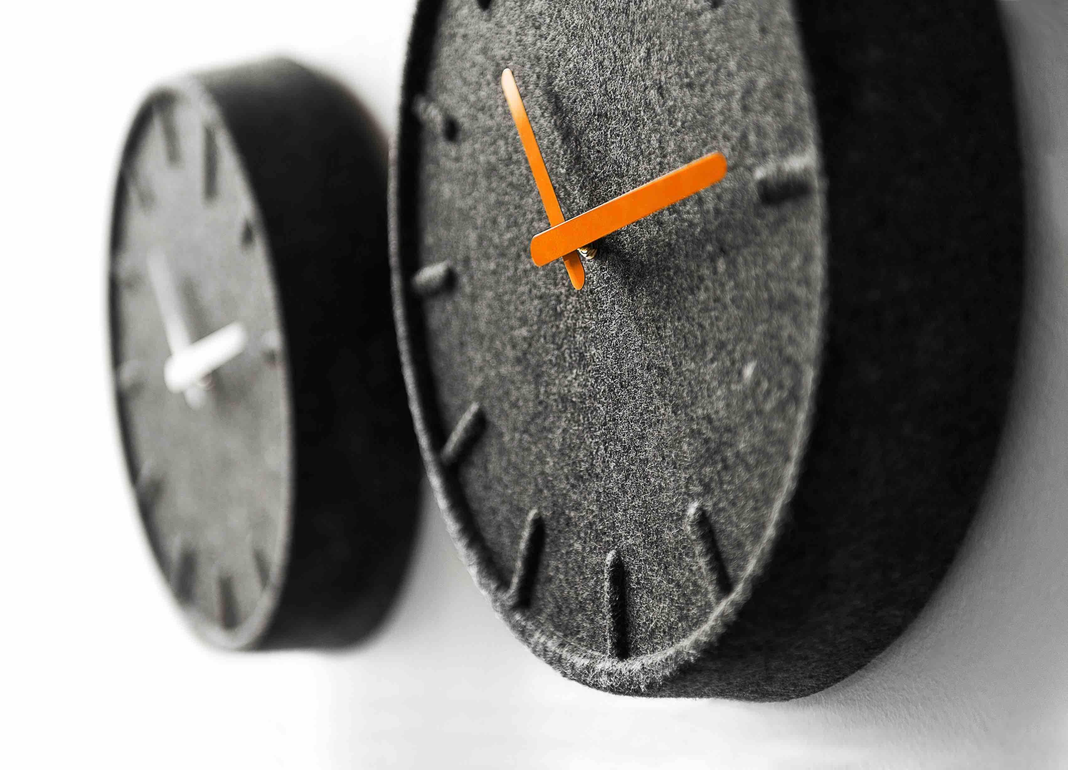 Felt35 Wall Clock by Sebastian Herkner