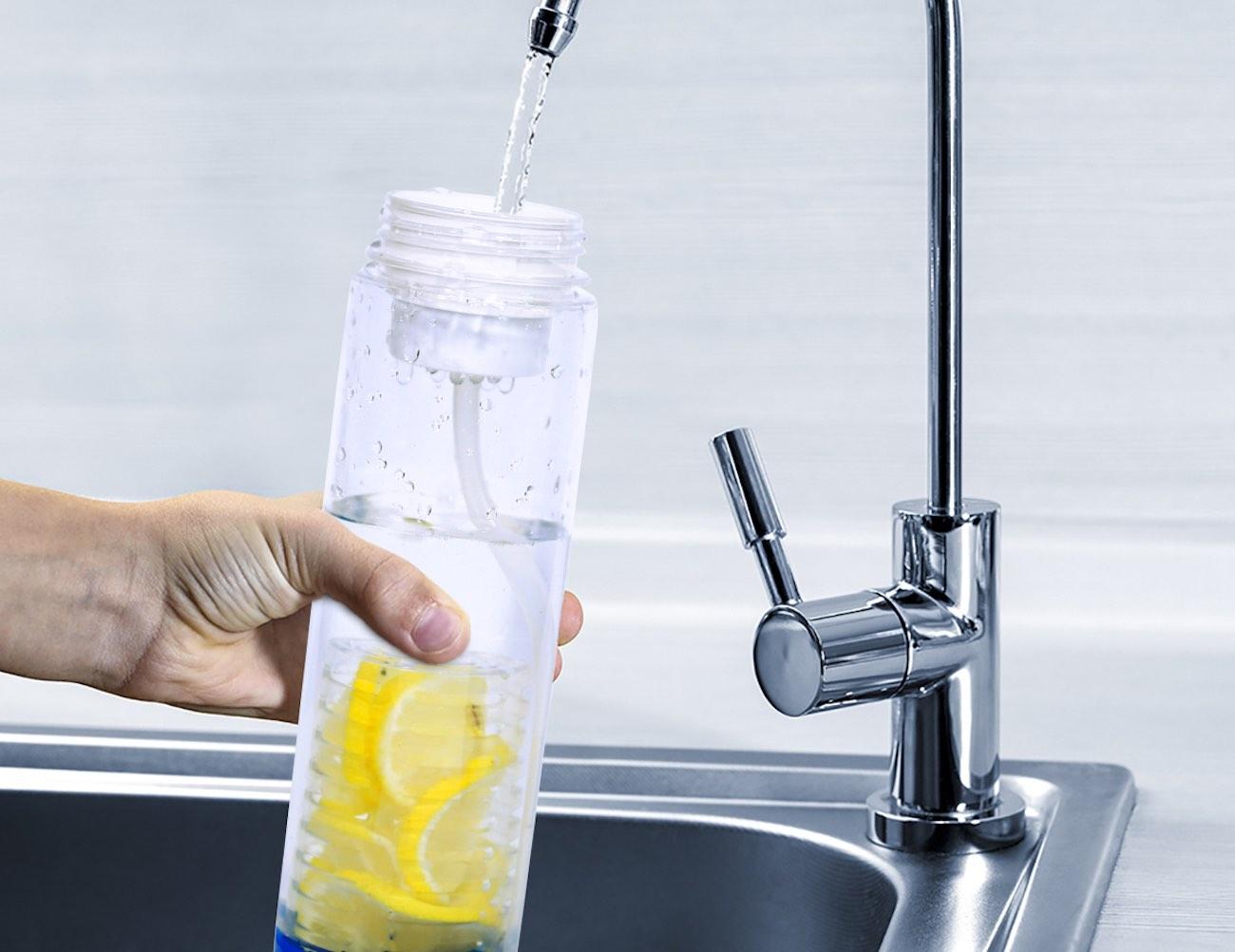 Innovative 2-in-1 Filter/Infuser Water Bottle