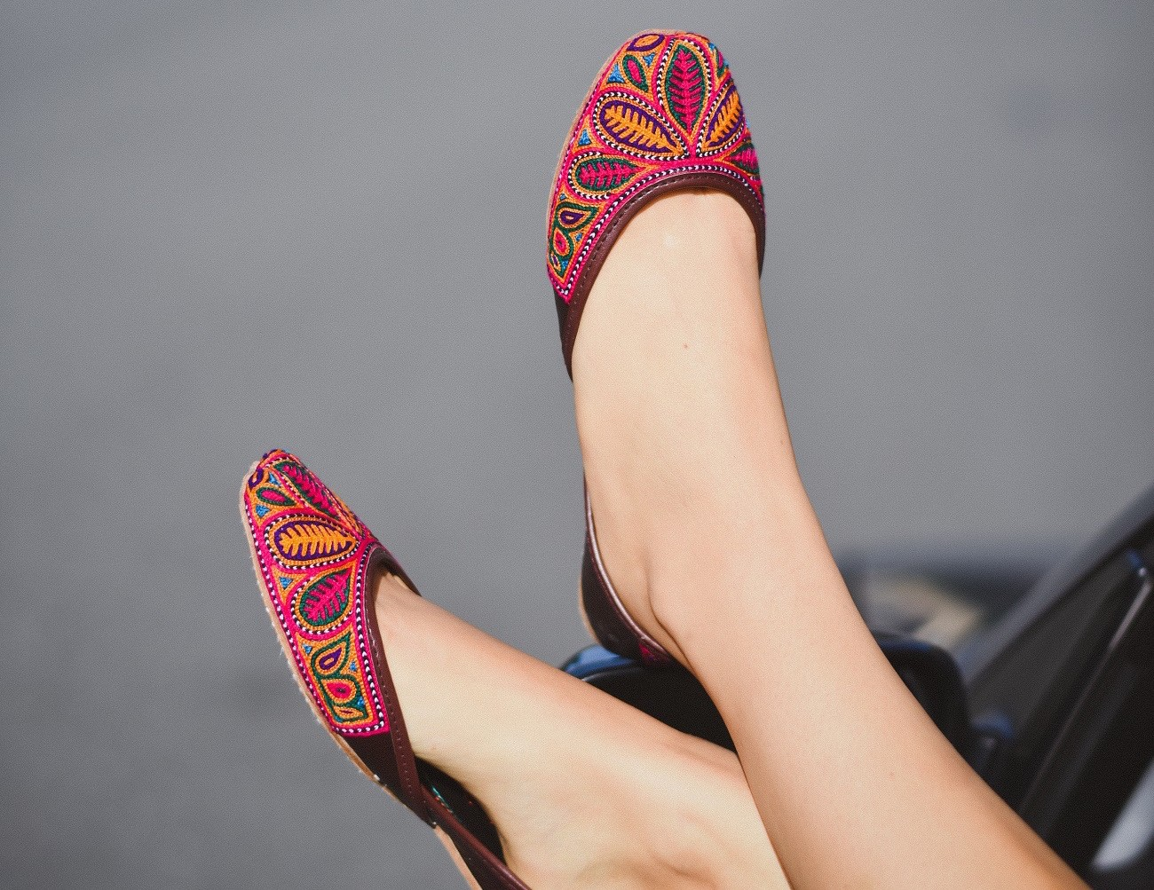 Fuchsia Handmade Shoes