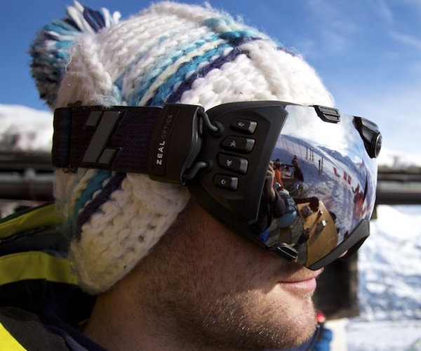 HD Video Camera Goggles by Zeal Optics