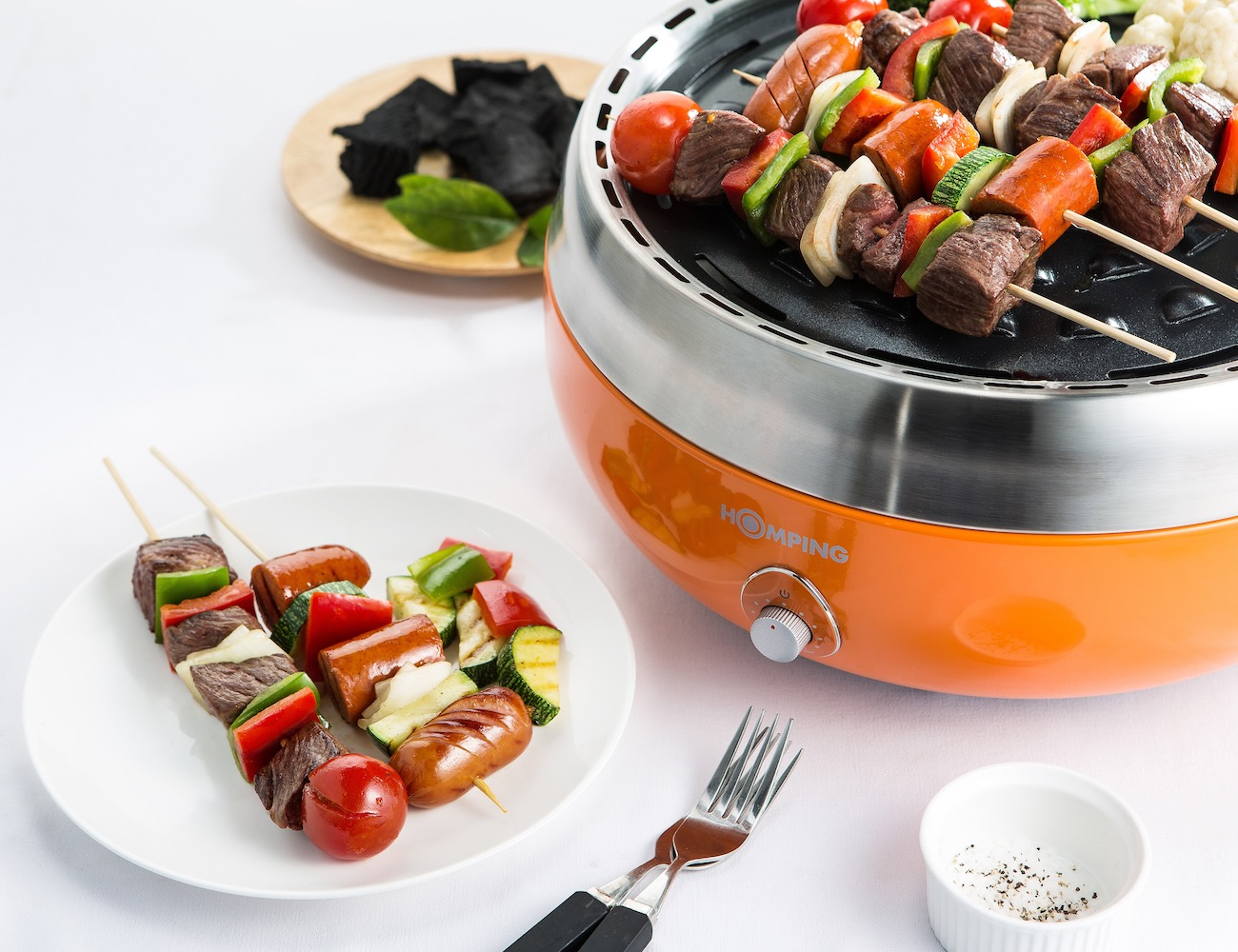 Homping Grill - Ultimate Portable Charcoal BBQ Grill » Gadget Flow