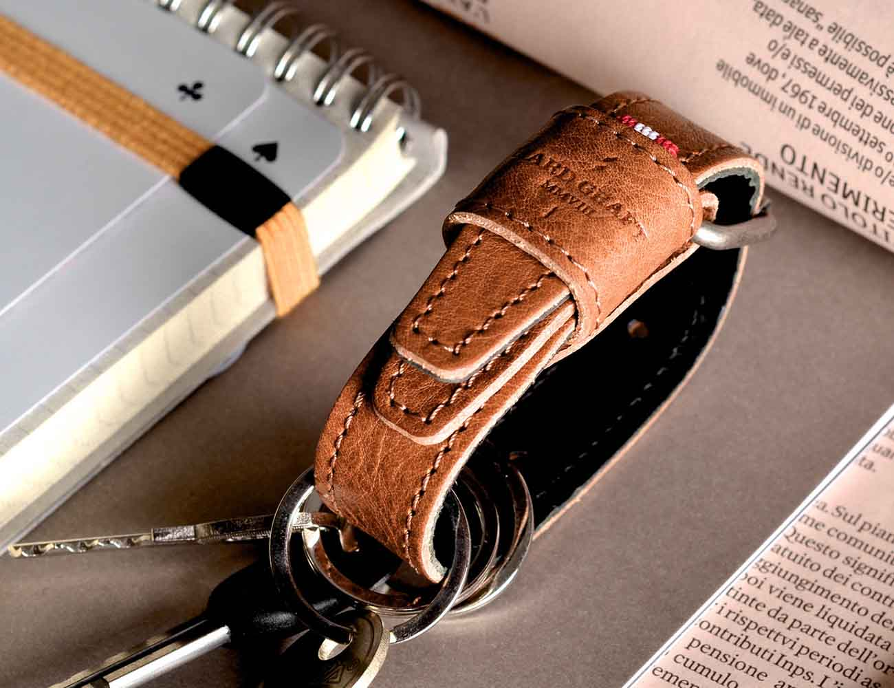 Hooked Key Fob With Buckle Closure By Hard Graft