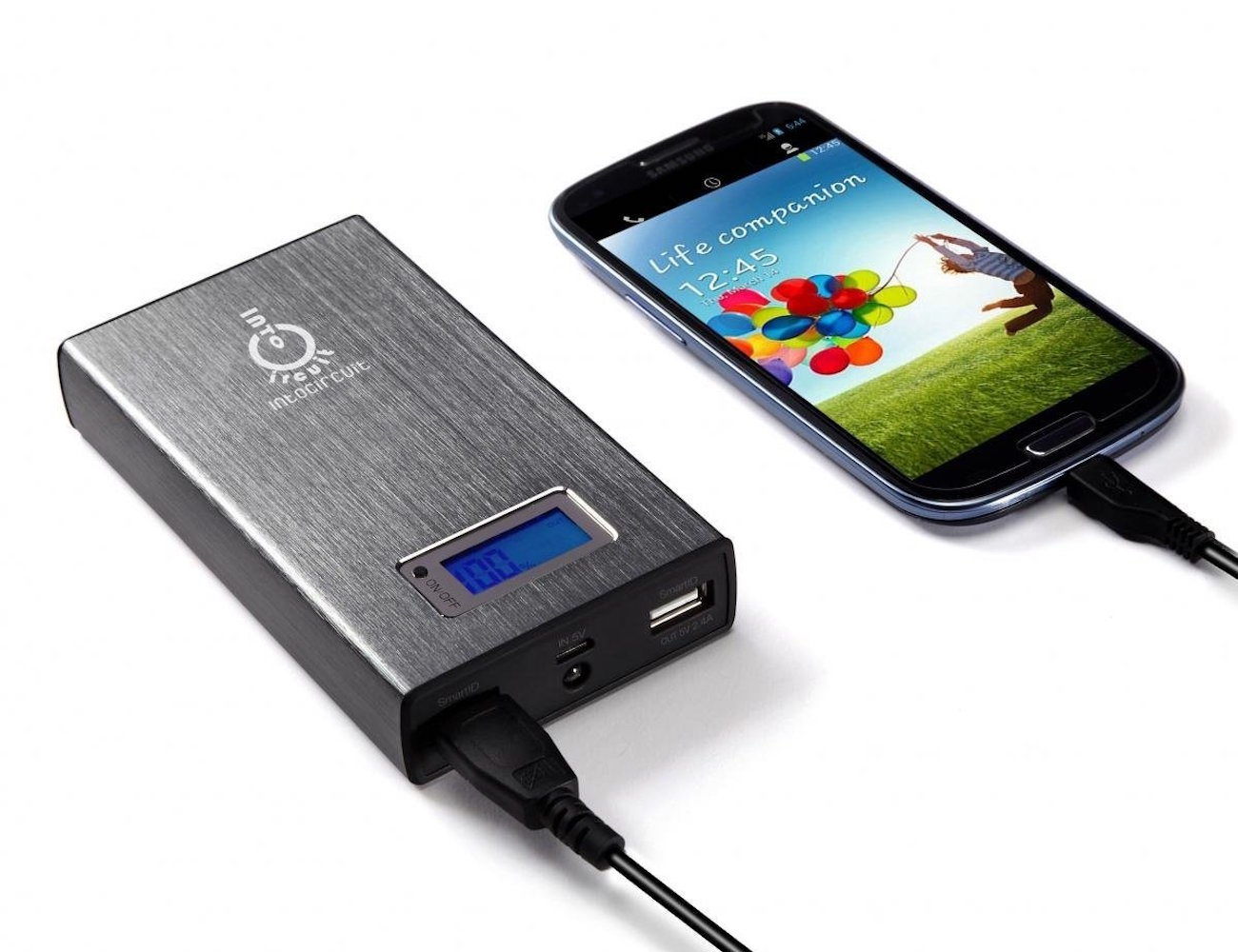 Intocircuit Portable Charger with SmartID Technology