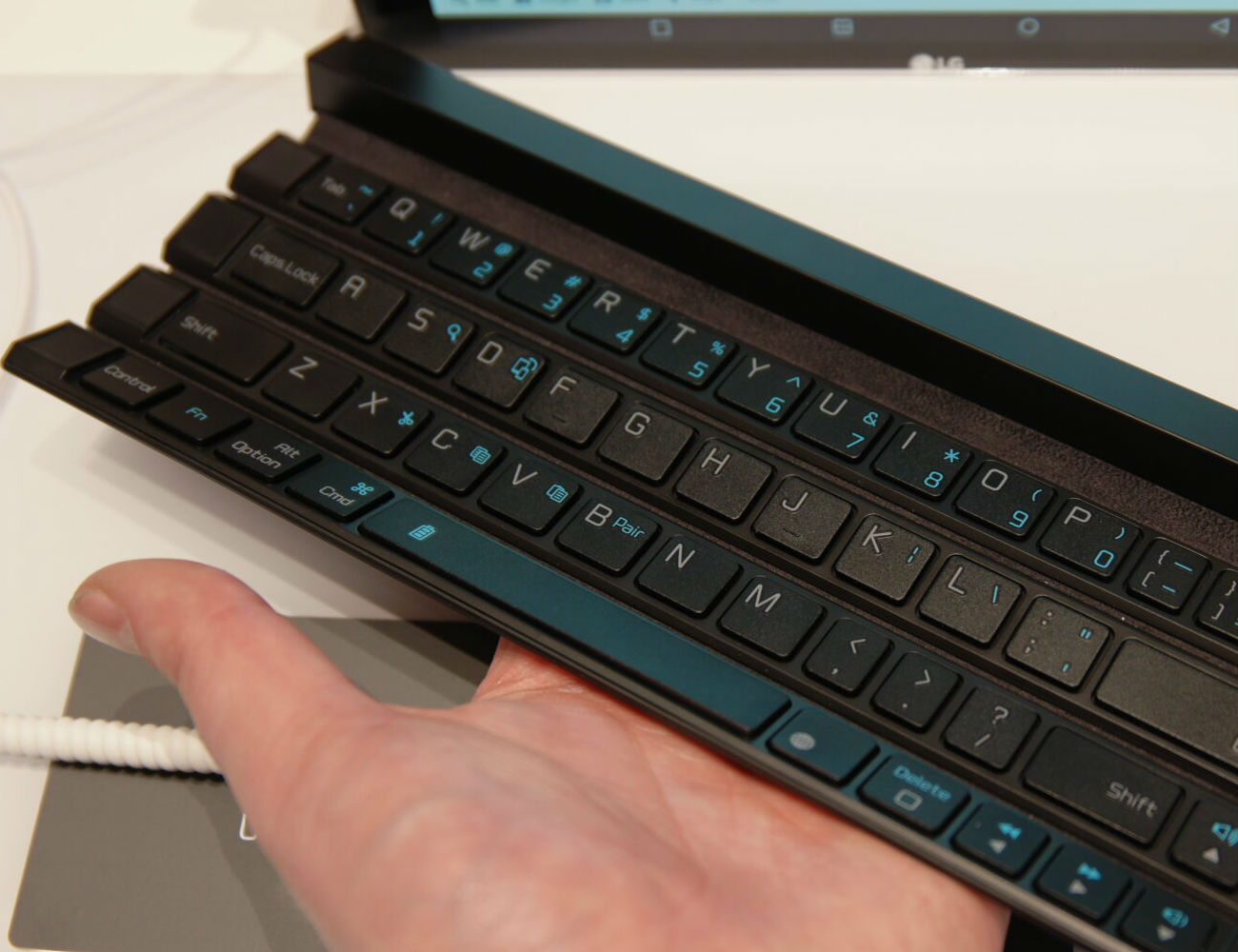 LG Rolly Bluetooth Keyboard