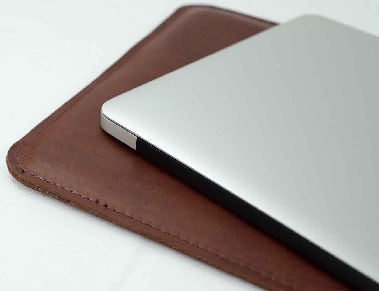Leather MacBook Air Sleeve by MintCases