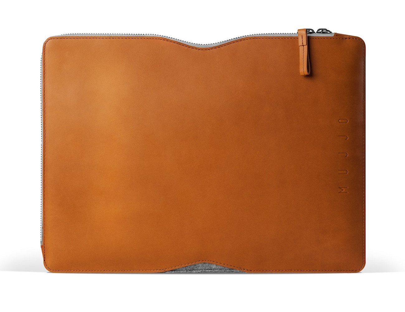 Leather MacBook Folio Sleeve by Mujjo