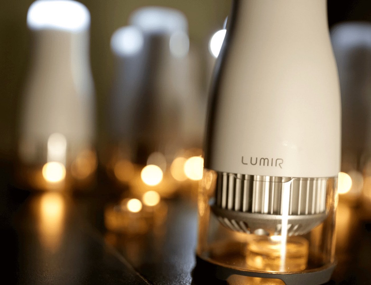 Lumir C – The Candle Powered LED Lamp