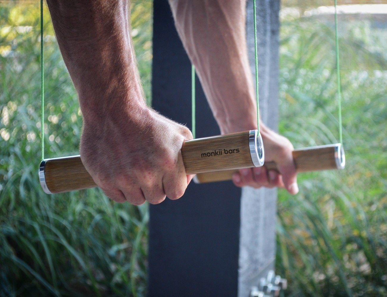 Monkii Bars – Ultra Portable Bodyweight Training Device