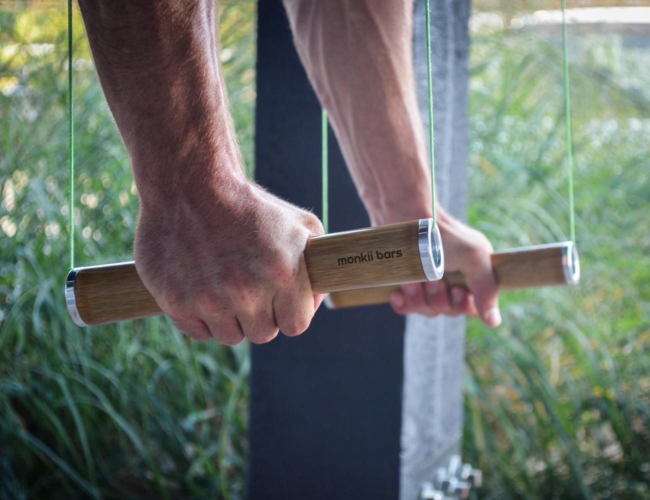 Monkii Bars – Ultra Portable Bodyweight Training Device