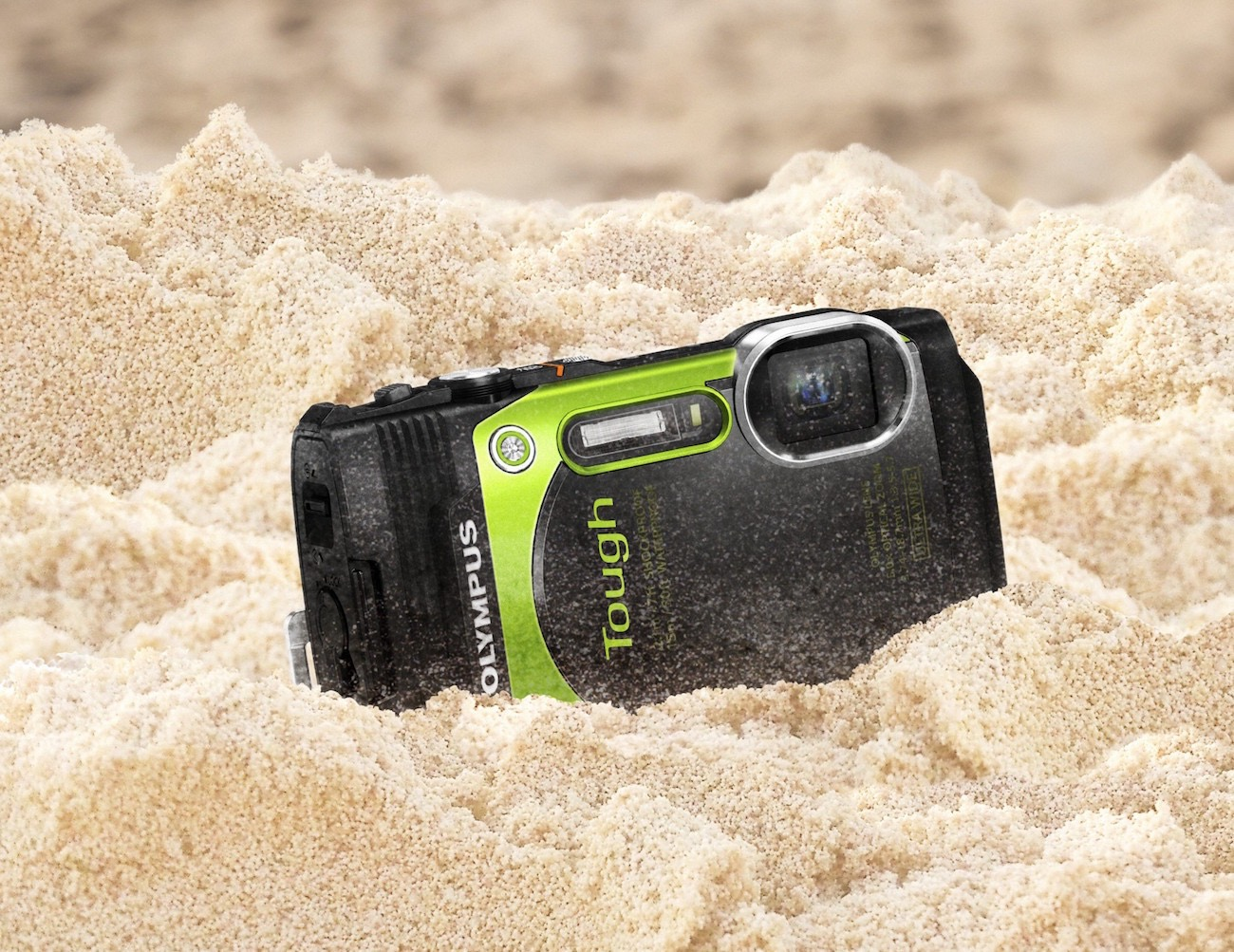 Olympus TG-870 Tough Waterproof Digital Camera