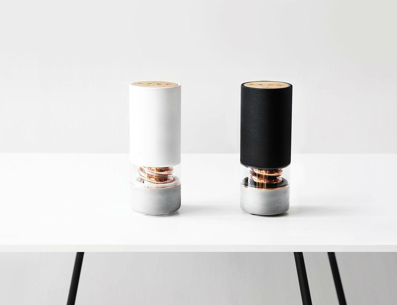 Pavilion Wireless Speaker & D-Spiral Acoustic System by Hult Design